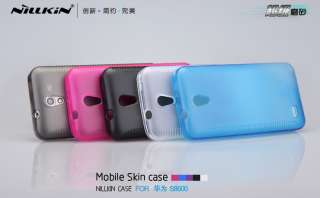 Soft TPU Silicone Skin Case + LCD Screen Protector for Huawei Spark