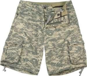 VINTAGE ARMY DIGITAL CAMO INFANTRY UTILITY SHORTS 613902252035
