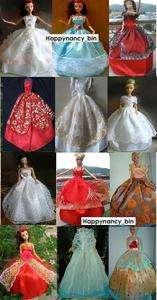 WHOLESALE 50 pc Fashion Barbie Doll Clothes/Dresses NEW