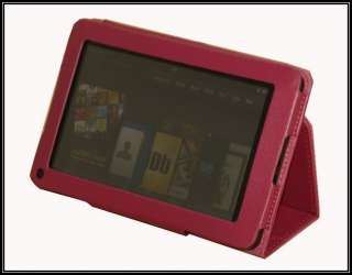Folio Pu Leather Case Cover For  Kindle Fire 7 Tablet