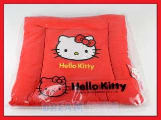 14 Sanrio Hello Kitty Red Square Chair Seat Cushion