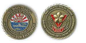 US NAVY JGSDF BEE COURSE Challenge Coin