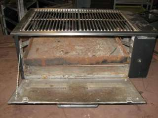 Commercial Char Grill Built In Charcoal Indoor/Outdoor Grill