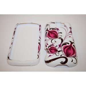 HTC MYTOUCH 3G SLIDE PINK AND WHITE POMEGRANATE FLOWERS DESIGN HARD
