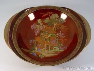 BEAUTIFUL Carlton Ware Rouge Royale MIKADO BOWL