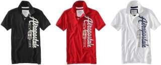 LOT OF 3   Aeropostale MEN POLO Shirts t S,M,L,XL,2XL