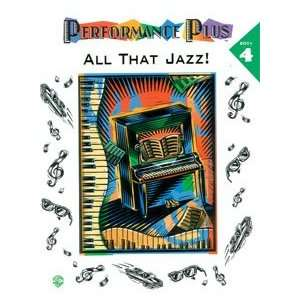 Alfred Publishing 00 AF9722 Performance Plus Popular Music, Book 4