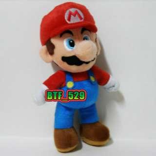 New Super Mario Brothers Plush Figure ( 91/2 Stand Mario ) x
