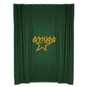 Room Shower Curtain   Dallas Stars NHL /Color Dark Green Size 72 X 72
