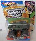 Hot Wheels 2012 Monster Jam GRAVE DIGGER 30th Anniverary Poster Inside