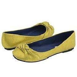Steve Madden Crunchh Yellow Suede Flats