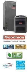Ton 18 Seer Goodman Heat Pump System   DSZC180361   AVPTC31371
