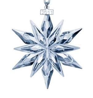 Swarovski Crystal 2011 Annual Edition Christmas Snowflake Ornament