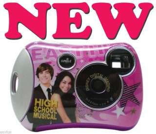 Disney Pix Kids Digital Camera High School Musical PINK