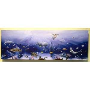 Dolphin Shark Tropical Fish Wall Art