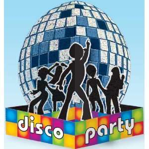 Lets Party By Amscan Disco Party Prismatic Centerpiece