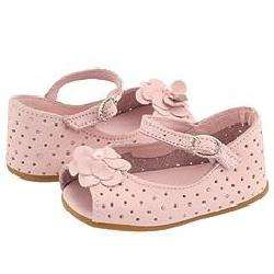 Pampili 193.004 (Infant) Rose Pink Slip ons