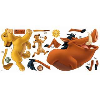 The Lion King Giant Wall Decals Kids Movies Sticker