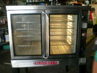 BLODGETT EF 111 Electric Full Size Convection Oven w. Stand 208/220V 3