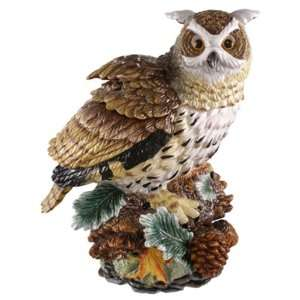 OWL COOKIE JAR: Home & Kitchen