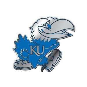 University of Kansas Jayhawks NCAA College Blue & Chrome