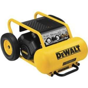 DEWALT D55171R 1.5 HP 7.5 Gallon Oil Lube Wheeled Portable Air