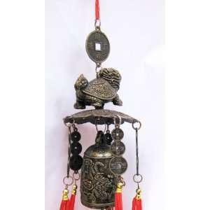 Dragon Tortoise Feng Shui Wind Chime   Said to Bring Long