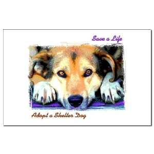 Save a Life   Adopt a Shelter Pets Mini Poster Print by