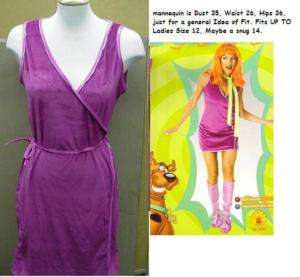 DAPHNE from Scooby Doo Dress and Wig Adult Costume