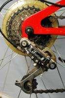 Harley Davidson Draxus full suspension mountain bike bicycle red 24