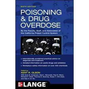 Poisoning & Drug Overdose, Olson, Kent R. Textbooks