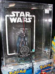 STAR WARS DARTH VADER 2002 NEW YORK TOY FAIR SILVER ANNIVERSARY IN