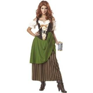 Costumes Esmeralda Costume Village Wench Gypsy Costume: Clothing