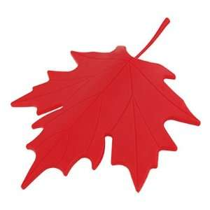 Amico Red Plastic Maple Leaf Style Home Decorative Door