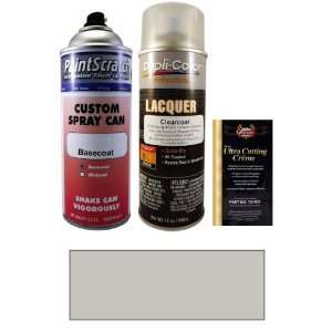 12.5 Oz. Bright Silver Metallic Spray Can Paint Kit for