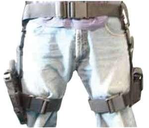 NcStar 3 Piece Drop Leg Tactical Holster and Magazine Holder