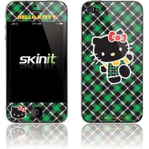 Hello Kitty Green Plaid skin for Apple iPhone 4 / 4S