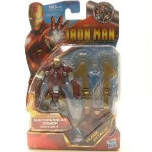 Inch Action Figure #05 Iron Man Subterranean Armor Toys & Games