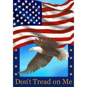 Flag & Eagle Garden Size 12 Inch X 18 Inch Decorative Flag Patio