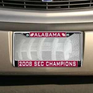 com Alabama Crimson Tide 2008 SEC Conference Football Champions Team