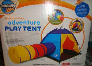Discovery Kids Adventure Play Tent Indoor Outdoor Tunne