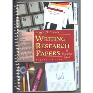 Writing Research Papers   A Complete Guide; Instructors