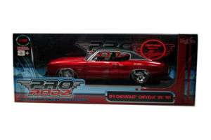 1971 Chevy Chevelle SS 454 Maisto Pro 1/18 Candy Red