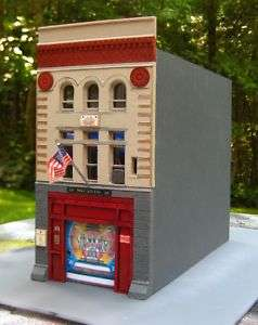 Firehouse Fire Station for Code 3 FDNY Squad 18
