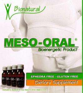 Meso Oral Drops *bioenergetic product* (4 bottles) 100% original_ te