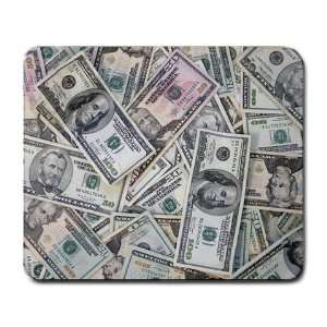 New Custom Mousepad Mouse Pad Mat Computer Green Money
