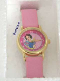 Princess SNOW WHITE Snow Globe Snowglobe Watch Set