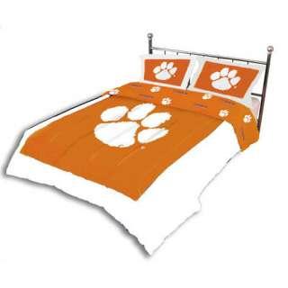 NCAA   Clemson Tigers Comforter Set  King Bed