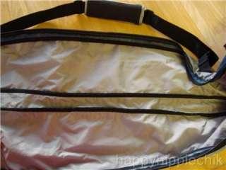 LL Bean Ski Carry Bag Travel Airplane Duffle Pack Blue Black NWOT 84