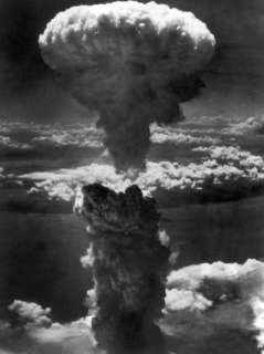 Atomic Bomb Smoke Capped by Mushroom Cloud Rises More Than 60,000 Feet